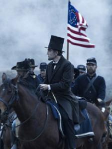 Lincoln horseback