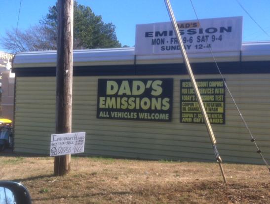 Dad's Emissions