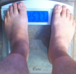 weekly weigh-in 021013
