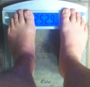 weekly weigh-in 021713