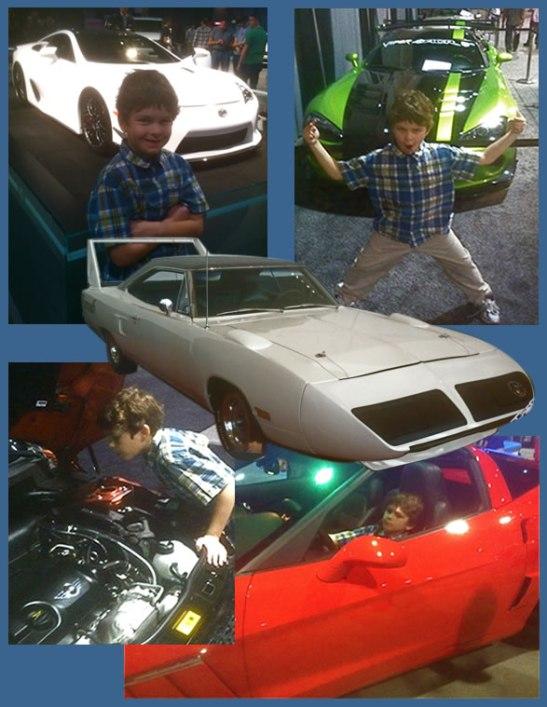 Caleb Car Show