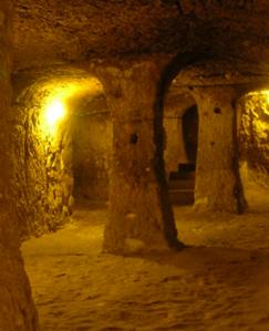 Derinkuyu dwellings