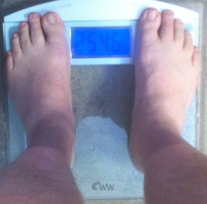 weekly weigh-in 030313