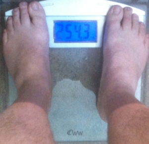 weekly weigh-in 031013