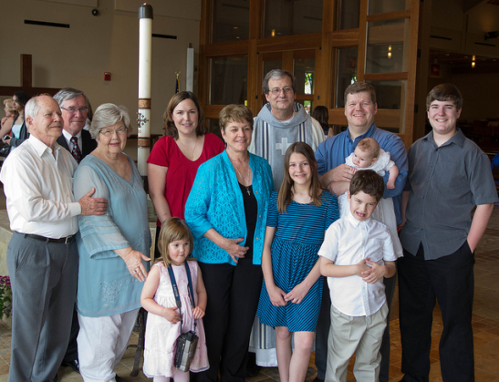 Baptism family