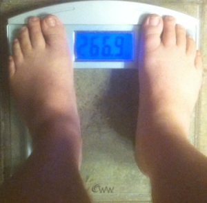 weekly weigh-in 041413