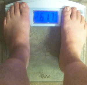 weekly weigh-in 042113
