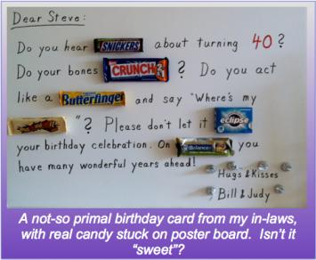 """Sweet"" Card"