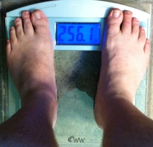 weekly weigh-in 052613