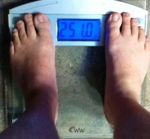 weekly weigh-in 060913