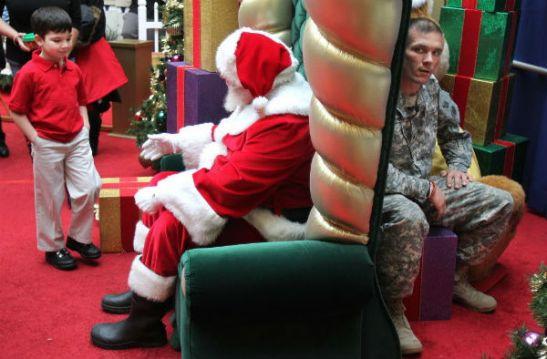 Unforgettable Santa visit