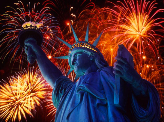 Beautiful Lady Liberty