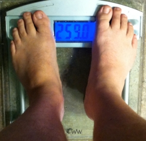 weekly weigh-in 072113