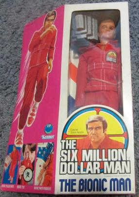 Six Million Dollar Man doll