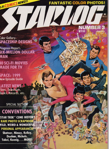 Starlog - Star Trek cover