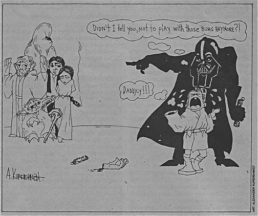 Starlog - Star Wars cartoon