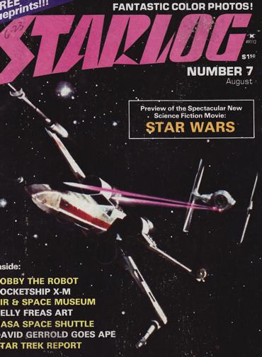 Starlog - Star Wars cover