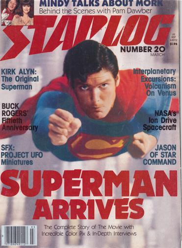 Starlog - Superman