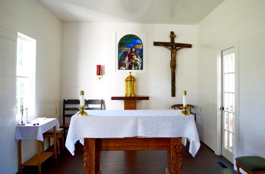 Covecrest chapel altar