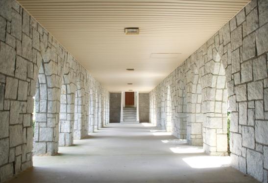 Snellville UMC walkway