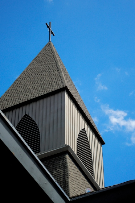 Snellville UMC steeple