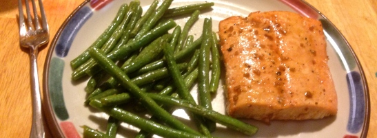 Sweet Bourbon-Glazed Salmon