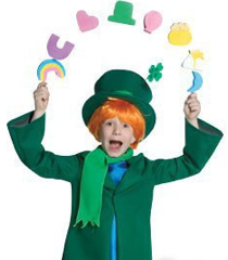 Lucky the Leprechaun child costume