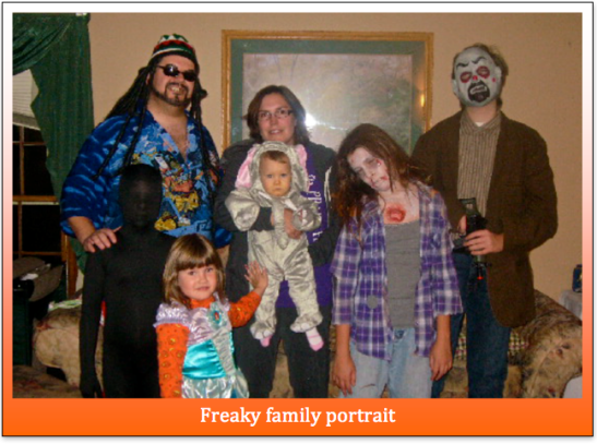 Freaky Family Portrait