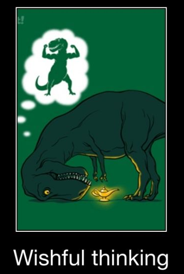 T-Rex wishing