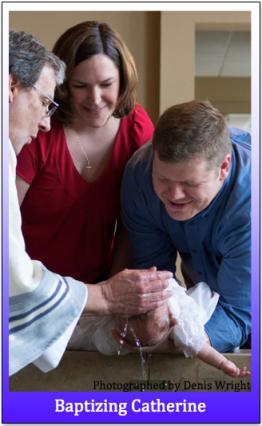 Baptizing Catherine