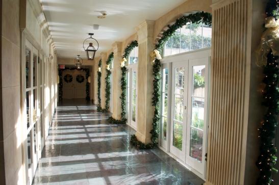 Rooftop corridor