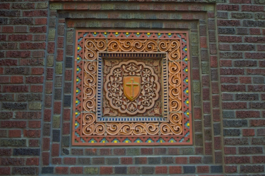 Immaculate Conception brick inlay