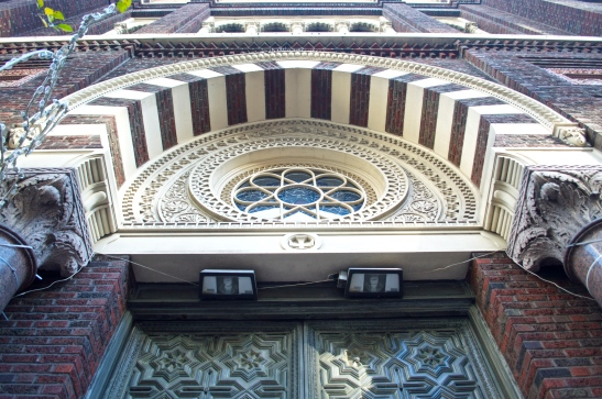 Immaculate Conception fanlight window
