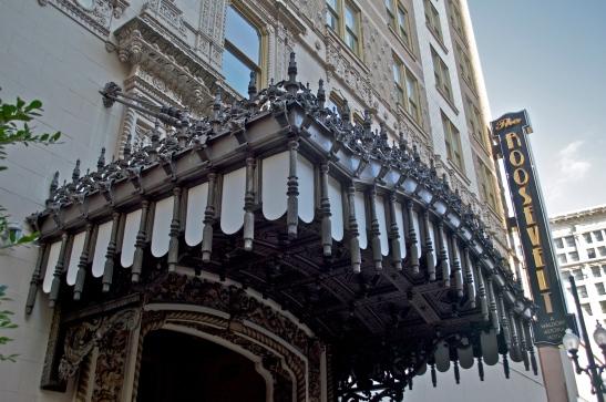 Roosevelt Hotel entrance