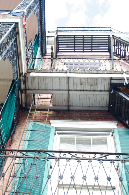 French Quarter catwalks