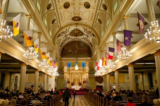 St. Louis Cathedral - Sanctuary landscape