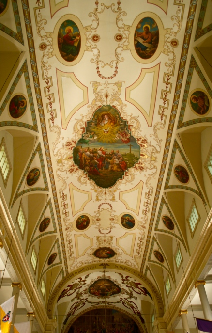 St. Louis Cathedral - ceiling