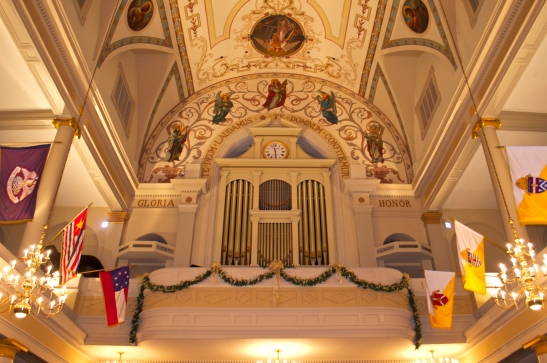 St. Louis Cathedral - pipe organ