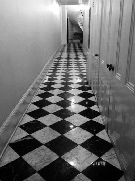 B&W corridor