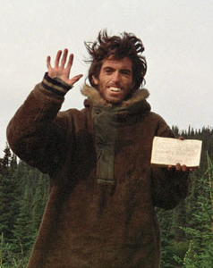 the portrayal of mccandless in jon krakauers into the wild Jon krakauer on researching 'into the wild' while mccandless' official cause of death has been recorded as starvation, author jon krakauer has evidence.