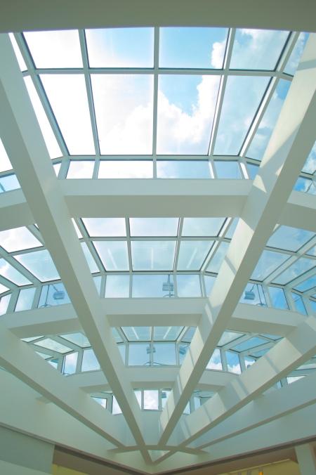 High Museum skylights