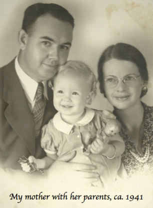 1941 Whiteside Family Portrait
